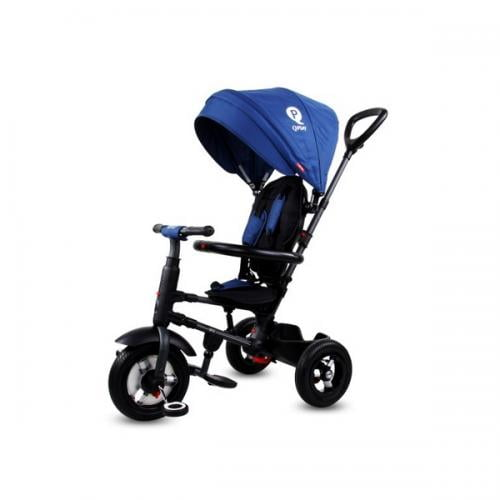 Tricicleta pliabila cu roti gonflabile sun baby 014 qplay rito - blue - Plimbare bebe - Triciclete copii