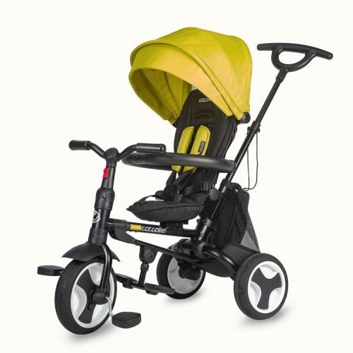 Tricicleta ultrapliabila Coccolle Spectra Sunflower Joy - Plimbare bebe - Triciclete copii