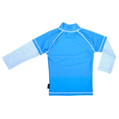 Tricou de baie Blue Ocean marimea 110- 116 protectie UV Swimpy - Echipament inot -