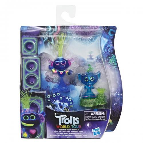 Trols set 2 figurine techno reef bobble - Jucarii copilasi - Figurine pop