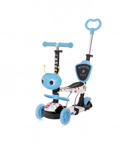Trotineta pentru copii smart plus - blue tracery - Plimbare bebe - Trotineta