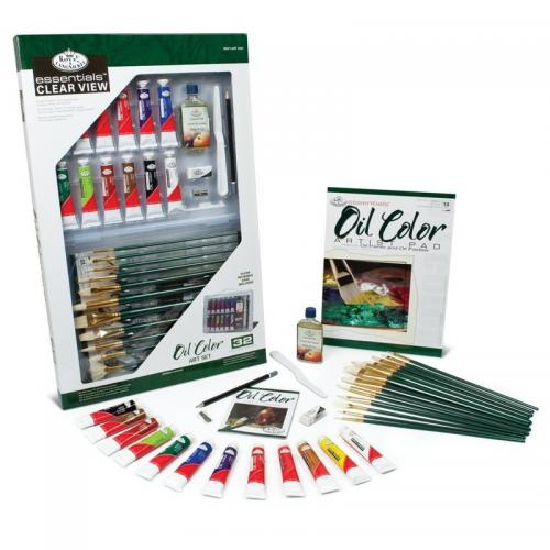 Trusa pictura culori ulei - Rechizite - Pictura si desen