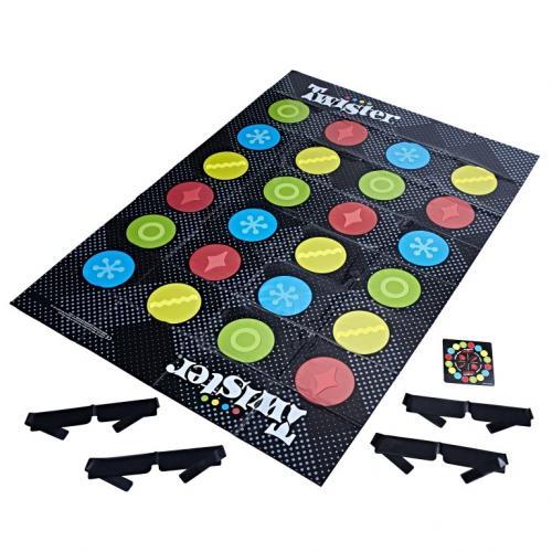 Twister legat la ochi - Jocuri pentru copii - Jocuri societate