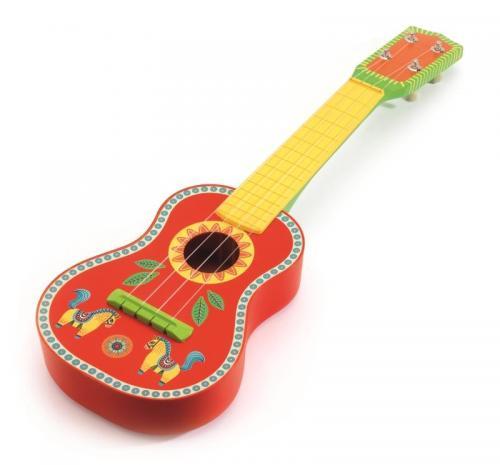 Ukulele (chitara mica) djeco - Jucarii bebelusi - Jucarie muzicala