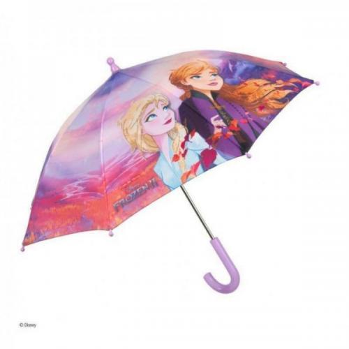 Umbrela manuala 42 cm cu inchidere cu siguranta Frozen 2 - Plimbare bebe - Genti carucioar