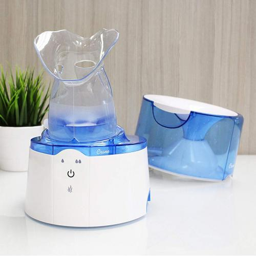Umidificator Ultrasonic 2 in 1 cu inhalator - Camera bebelusului - Umidificator