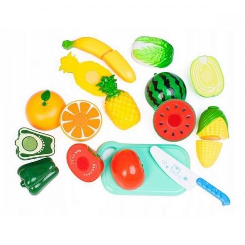Un set de legume si fructe ecotoys - Jucarii copilasi -