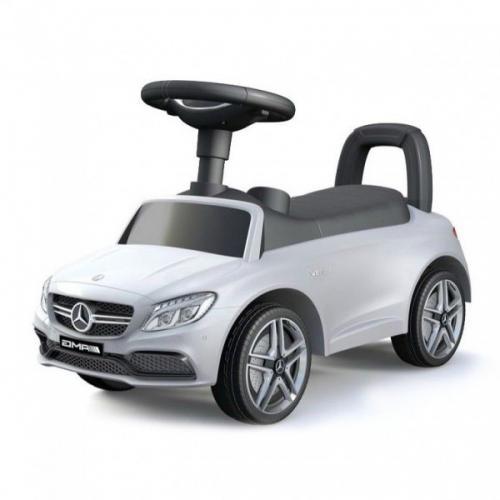 Vehicul pentru copii Mercedes Alb - Plimbare bebe - Masinute fara pedale