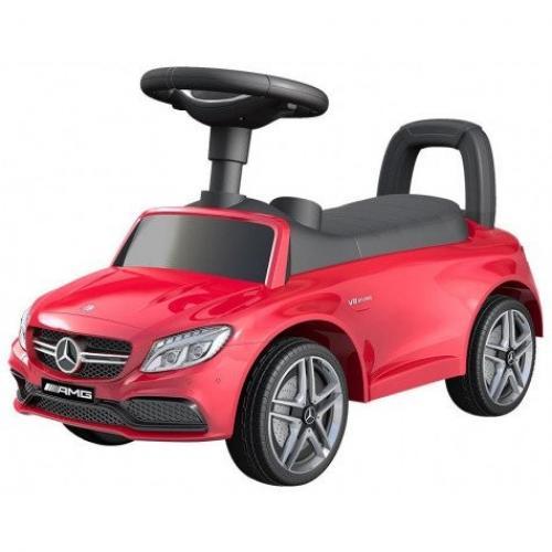 Vehicul pentru copii Mercedes Rosu - Plimbare bebe - Masinute fara pedale