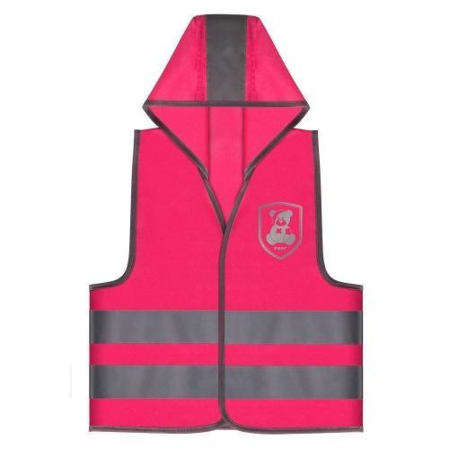 Vesta de siguranta MyBuddyGuard Elefant roz REER 53022 - Accesorii auto -