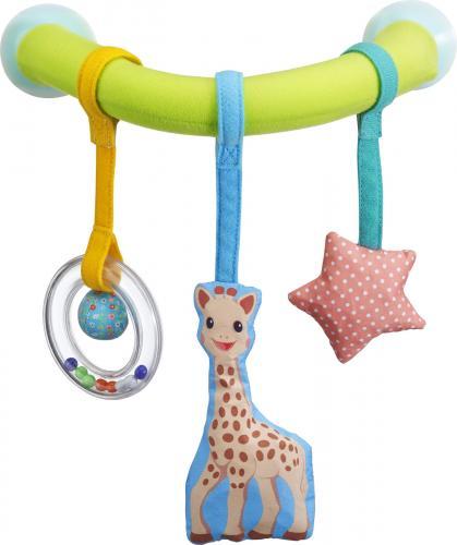 Vulli Arcada Cu Ventuze Pentru Masina Girafa Sophie - Accesorii auto -