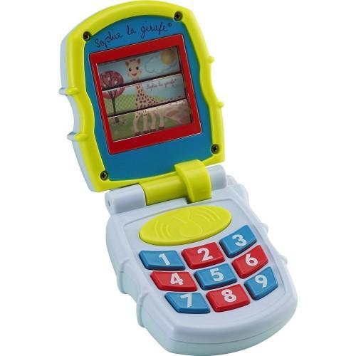 Vulli Primul meu telefon muzical mobil - Jucarii bebelusi - Jucarie muzicala