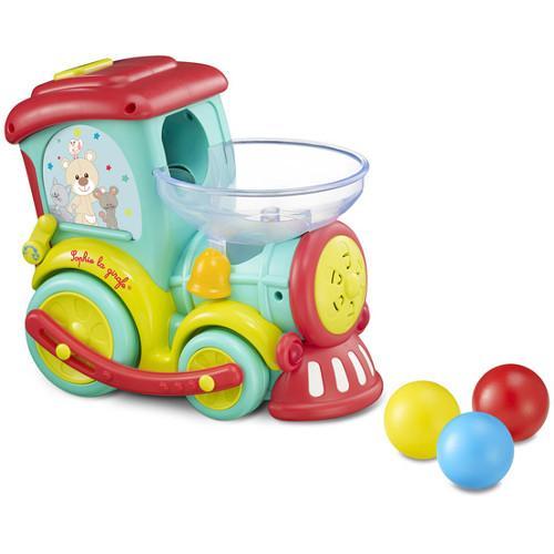 Vulli Trenul Magic Pop - Girafa Sophie - Jucarii bebelusi -