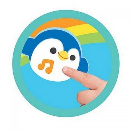 Winfun - Carticica senzoriala muzicala Happy Jungle Pals - Carti  -