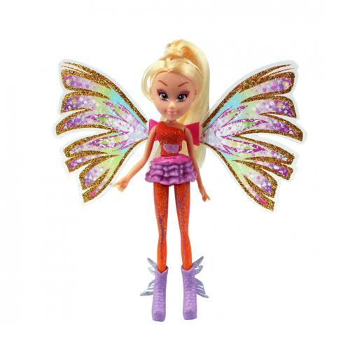 Winx Mini Zane Sirenix - Stella - Papusi ieftine -